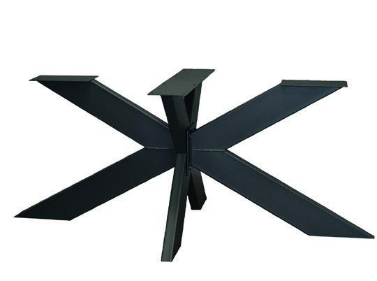 Tischgestell Metall Fineline 90 x 140 cm