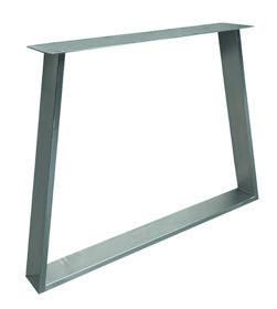 Tischuntergestell Edelstahl Trapez Fineline (2 Stück)