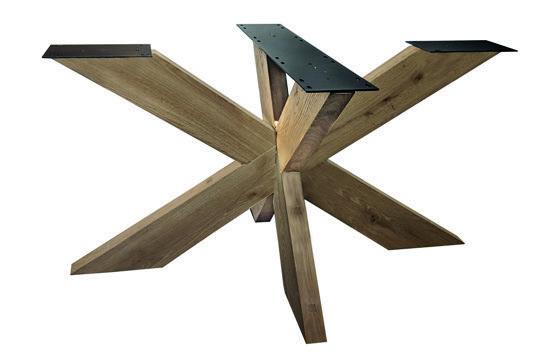 Tischuntergestell Holz Rex 90 x 140 cm