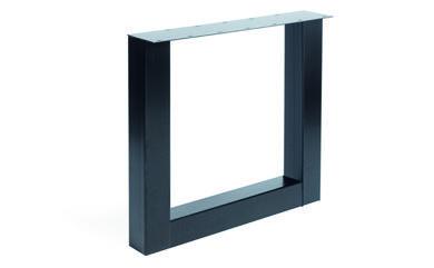 Tischgestell Metall U-Regular (2 Stück)