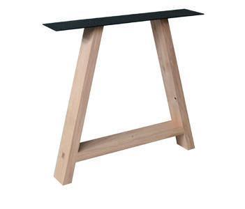 Tischuntergestell Holz A-Fineline (2 Stück)