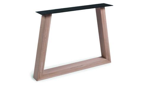 Tischuntergestell Holz Trapez (2 Stück)
