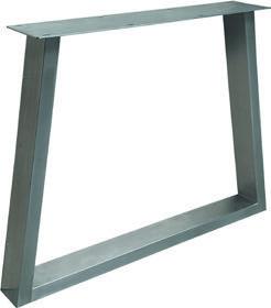 Tischuntergestell Trapez HighLine Edelstahl (V2A)