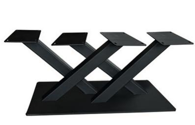 Couch- / Beistelltisch Metalluntergestell Bigfoot Double X