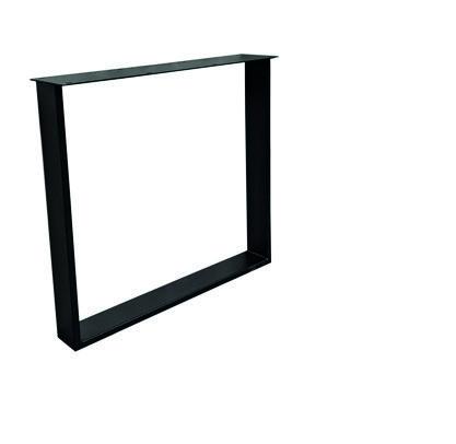 Tischuntergestell U HighLine Stahl - Black