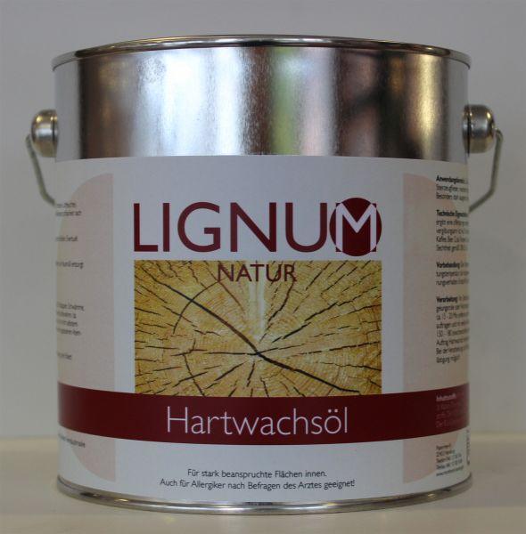 LIGNUM Hartwachsöl (farblos) 2,5l