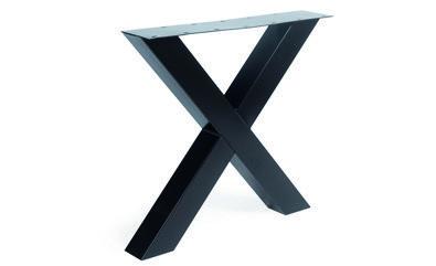 Tischgestell Metall X-Regular (2 Stück)