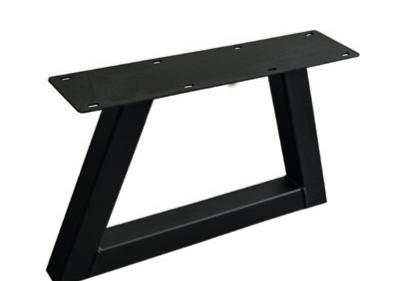 Couch- / Beistelltisch Metalluntergestell Trapez (2 Stück)