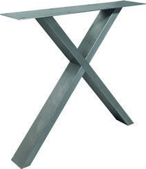 Tischuntergestell Edelstahl X Fineline (2 Stück)