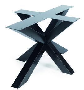 Tischgestell Metall Rex Reguar 90 x 140 cm