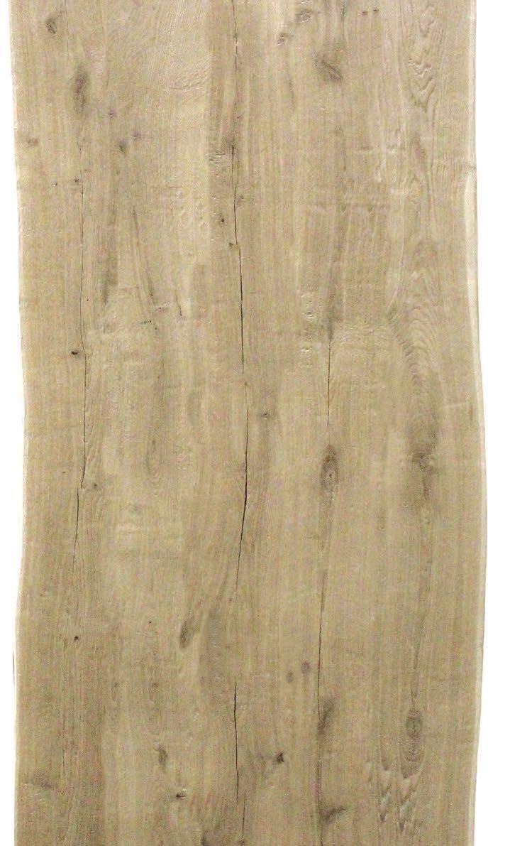 Eiche Tischplatte - Old Style mit natürlicher Baumkante