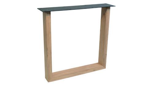 Tischuntergestell Holz U Fineline (2 Stück)