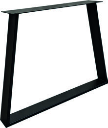 Tischuntergestell Trapez HighLine Stahl - Black