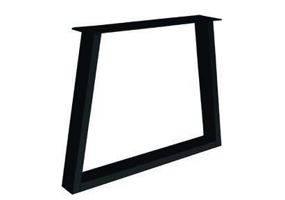 Tischgestell Metall Trapez Fineline (2 Stück)
