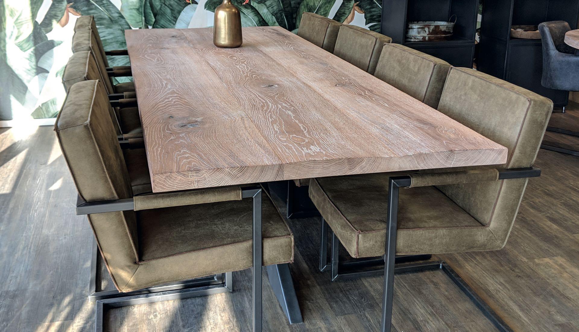 Eiche Tischplatte - Old York