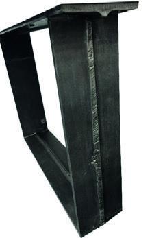 Tischgestell Metall U-Raw Industrial (2 Stück)