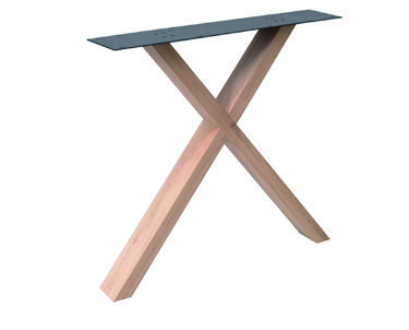Tischuntergestell Holz X Fineline (2 Stück)