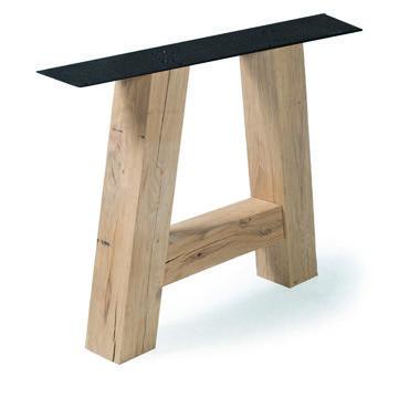 Tischuntergestell Holz A Regular (2 Stück)