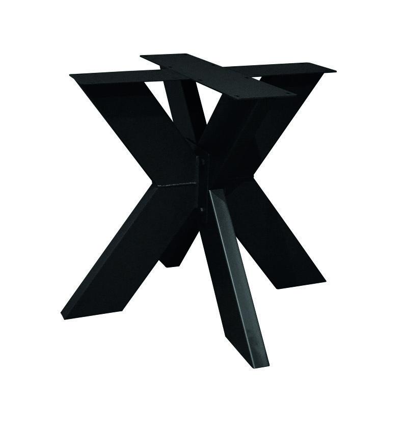 Tischgestell Metall Fineline 130 x 130 cm