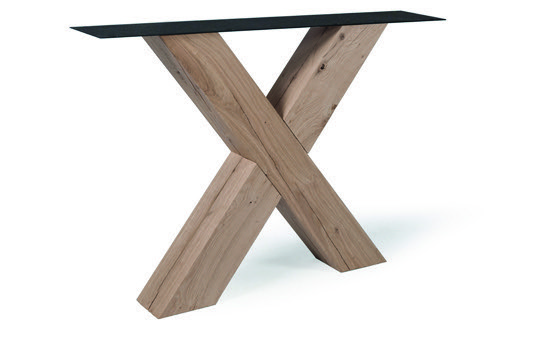 Tischuntergestell Holz X Regular (2 Stück)