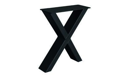 Metalluntergestell für Bänke X-Fineline (2 Stück)