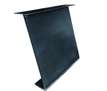 Tischuntergestell Metall Z Massivstahl (2 Stück)